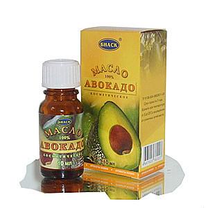 Масло авокадо вокруг глаз