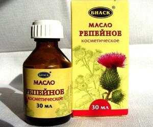 Польза репейного масла для лица