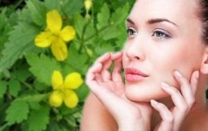 Польза чистотела для кожи лица