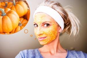 Рецепты масок для лица из тыквы