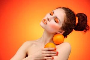Маска с маслом апельсина