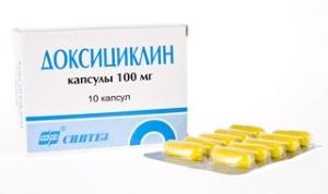 Доксициклин от акне на лице