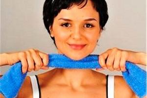 Упражнения для похудения подбородка