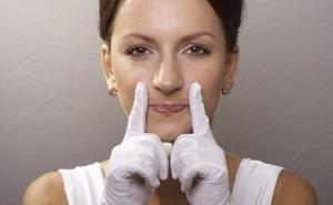 Упражнения от носогубных морщин