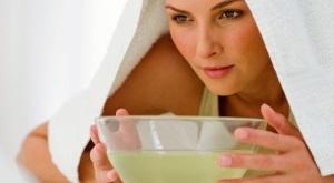 Распаривание кожи лица перед чисткой