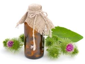 Способы применения репейного масла для красоты ресниц