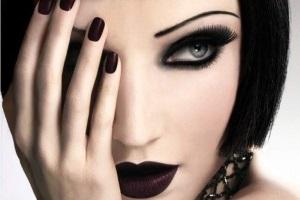 Макияж смоки айс для серых глаз