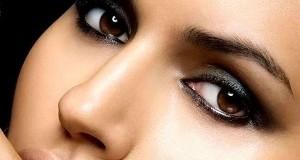 Выбор теней для карих глаз