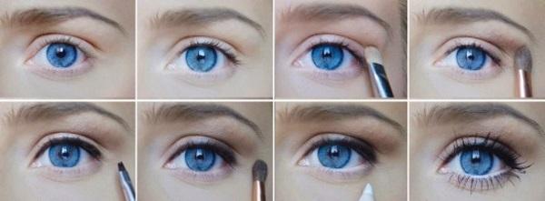 Сделать глаза больше с помощью макияжа
