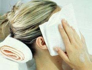 Избавиться от красноты на лице после загара
