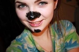 Волшебная угольная маска
