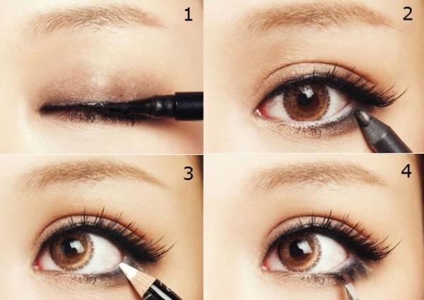 Визуальное увеличение глаз