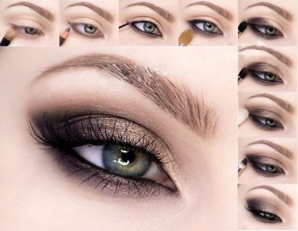 Как накрасить глаза?