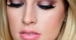 Нежный вечерний макияж