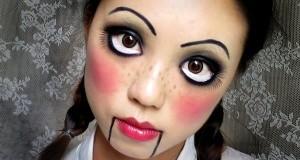 Как сделать макияж куклы?