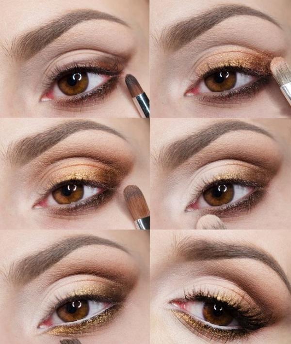 Создание вечернего образа глаз