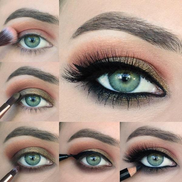 Как правильно сделать яркий макияж smoky eyes?