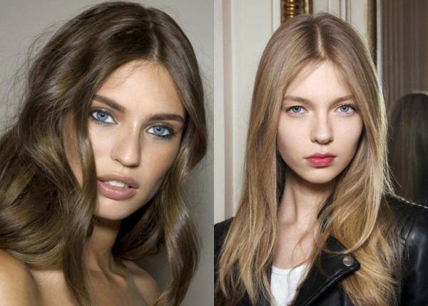 Роль оттенка волос