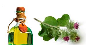 Применение репейного масла для лица