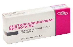 Применение ацетилсалициловой кислоты для кожи