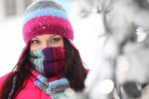 Защита от обморожения кожи лица