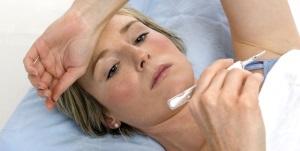Симптомы фурункулеза на лице