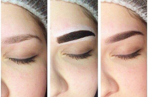 Как правильно покрасить брови хной самой?