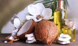 Масло кокоса для ресниц и бровей