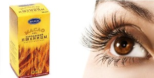 Масло зародышей пшеницы для ресниц