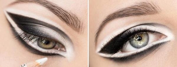 Большие глаза макияж
