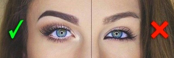 Как правильно накрасить глаза для увеличения?