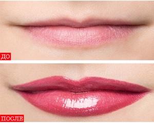 Макияж увеличивающий губы