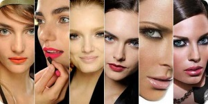 Сделать красивый макияж губ