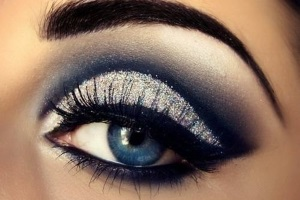 Смоки айс для голубых глаз пошагово
