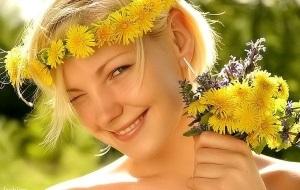 Польза одуванчика для кожи лица