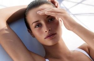 Защита кожи лица от загара