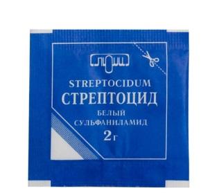 Лекарство со стрептоцидом