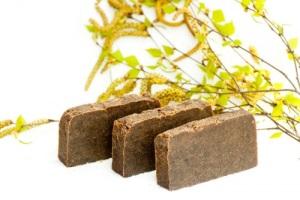 Дегтярное мыло-польза для лица