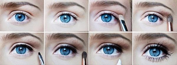 Глаза-пошаговая инструкция