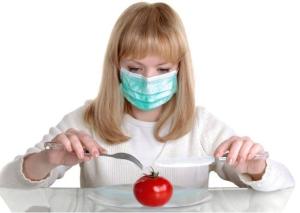 Как правильно питаться во время обострения?