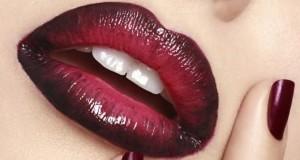 Омбре на губах - как сделать?