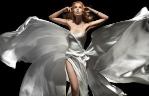Макияж под белое платье