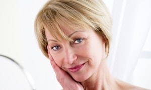Возрастные изменения кожи в 55