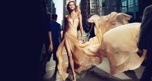 Макияж под бежевое платье