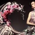 Макияж под серебристое платье